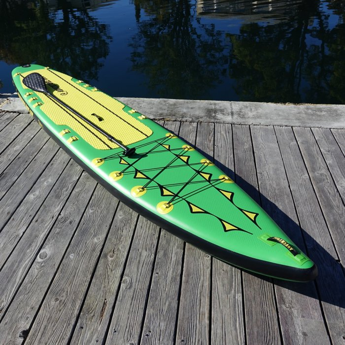 """Oar Board® SUP Fit On Top Rower, Stand Up Paddle Board, Adventure Row 13'4"""" Inflatable SUP, Oar Board, Whitehall Rowing & Sail"""