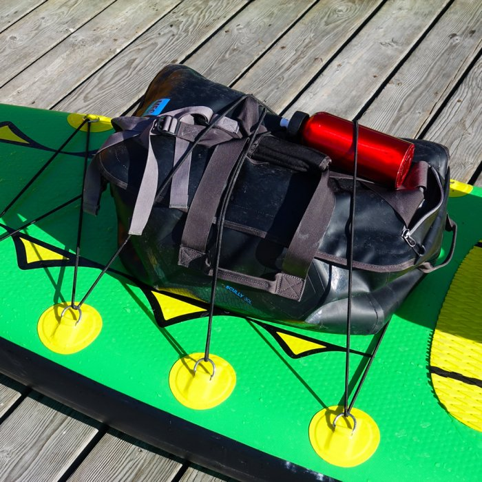 """Adventure Row 13'4"""" Inflatable SUP, Camping, Backpack, Stand Up Paddle Board, Oar Board, Whitehall Rowing & Sail"""