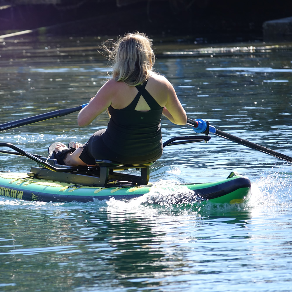 "Oar Board Adventure Row SUP 13'4"" Combo  - Row Your Board"