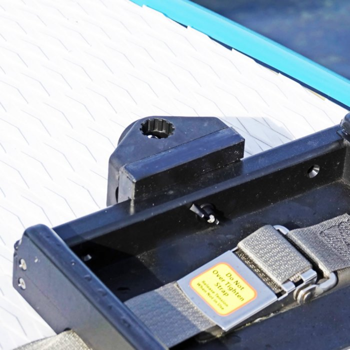 Gear Mount with End Stop, Accessories, Oar Board® SUP Fit On Top Rower, Whitehall Rowing & Sail