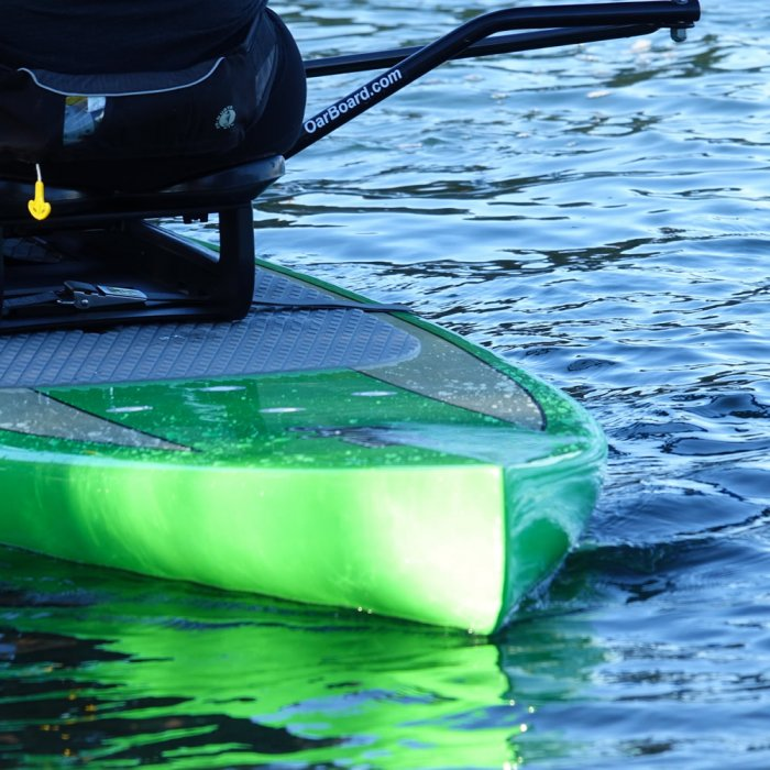 The ATX Navigator Solid Body SUP, Oar Board, Whitehall Rowing & Sail