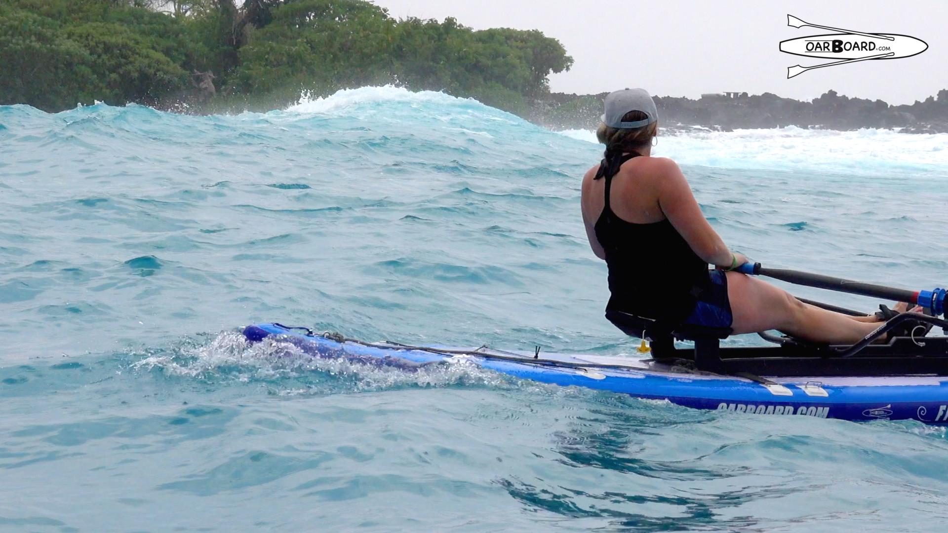 Hawaii-Wave-Oar-Board-Rower-Rowing-Travel-Diana-Lesieur