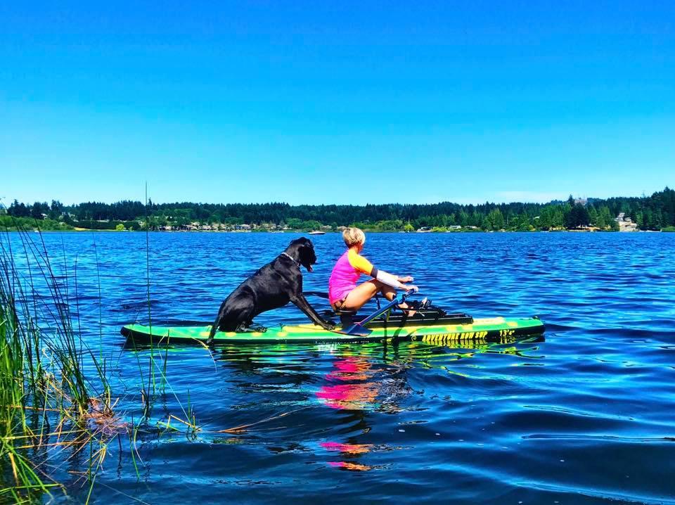 Louis-Trish-Oar-Board-Rower-Rowing-with-Dogs-Great-Danes
