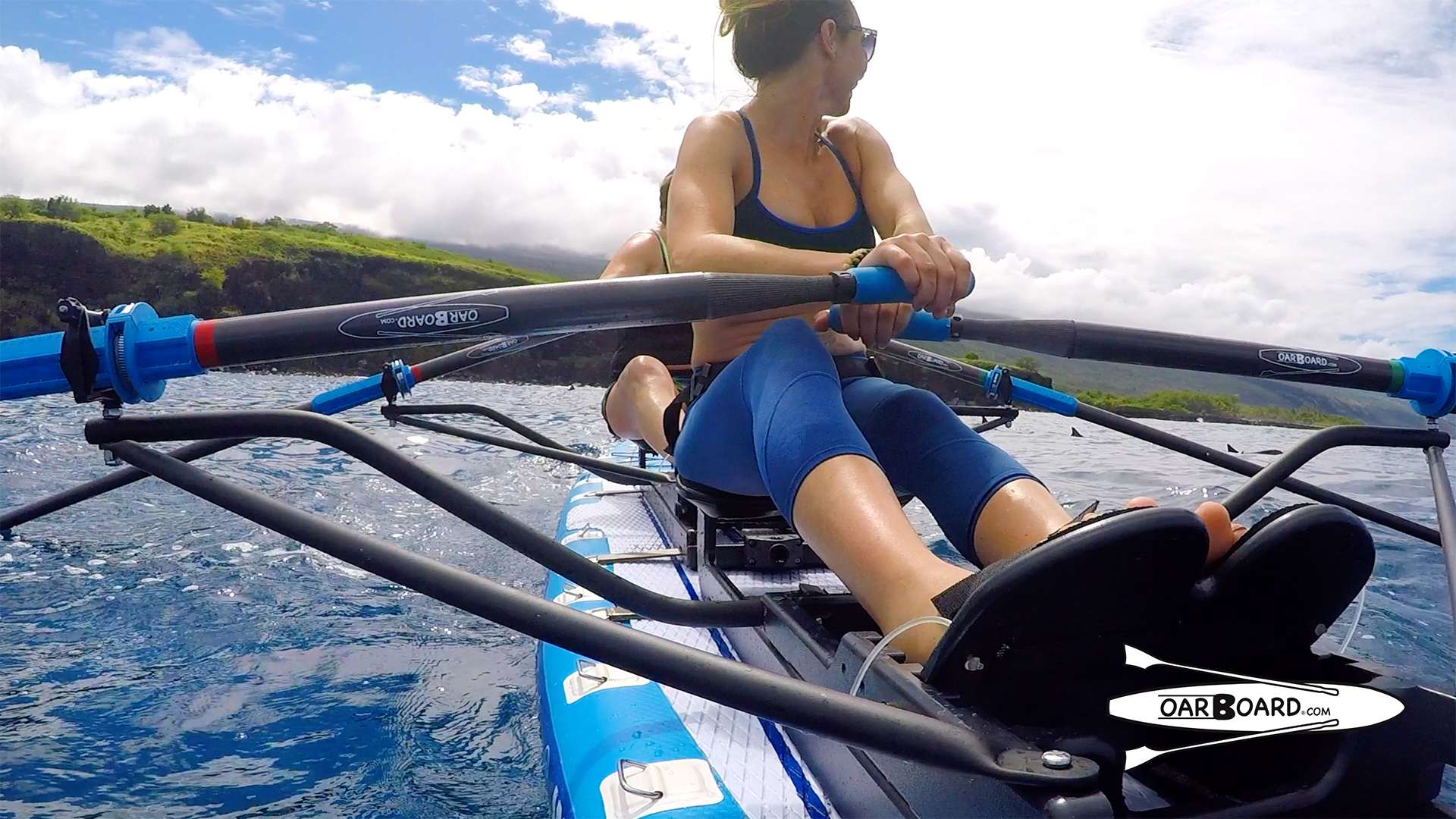Oar-Board-Hawaii-Row-with-Dolphins