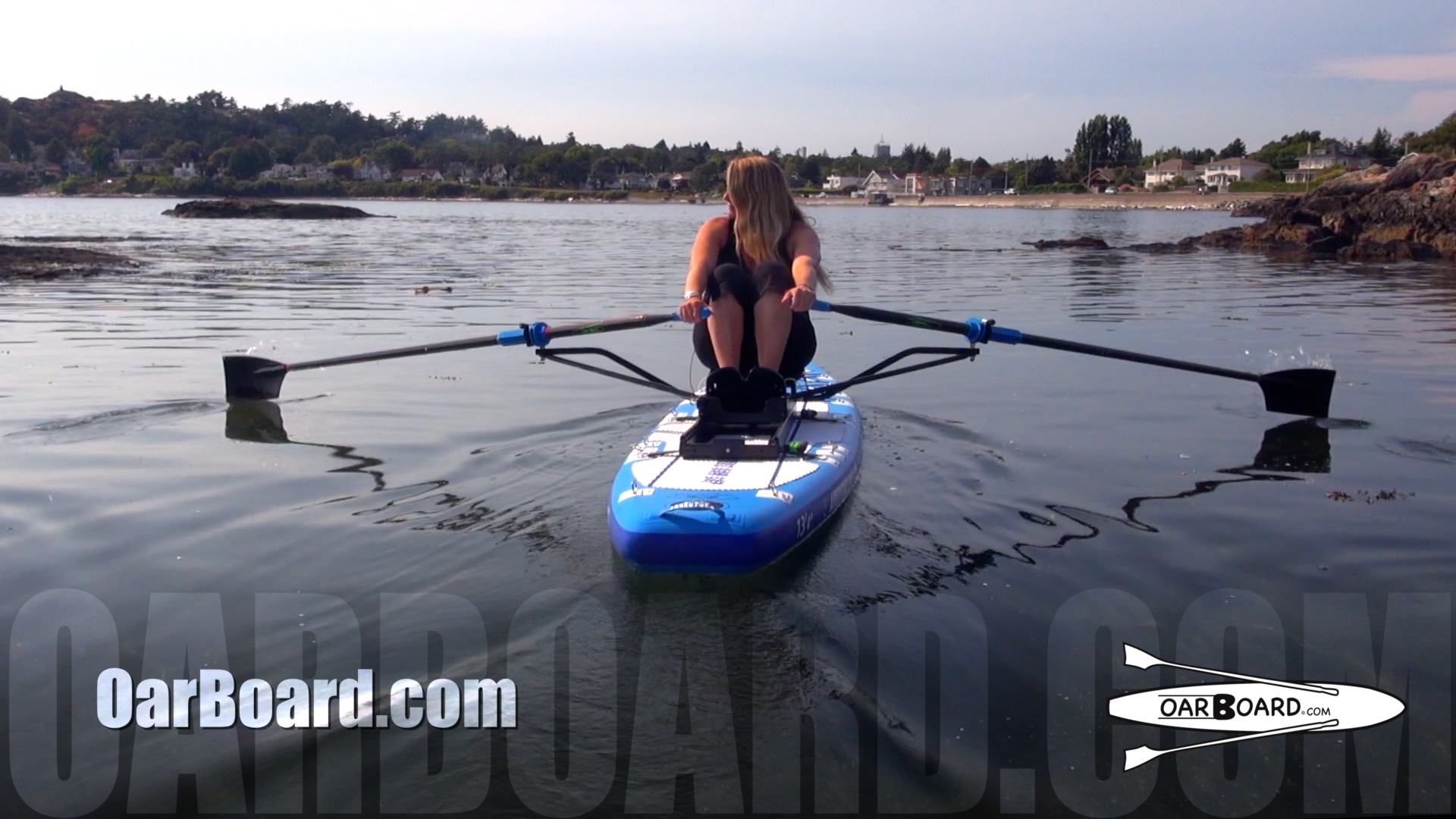 Diana-Lesieur-McNeill-Bay-Inflatable-SUP-Rowing