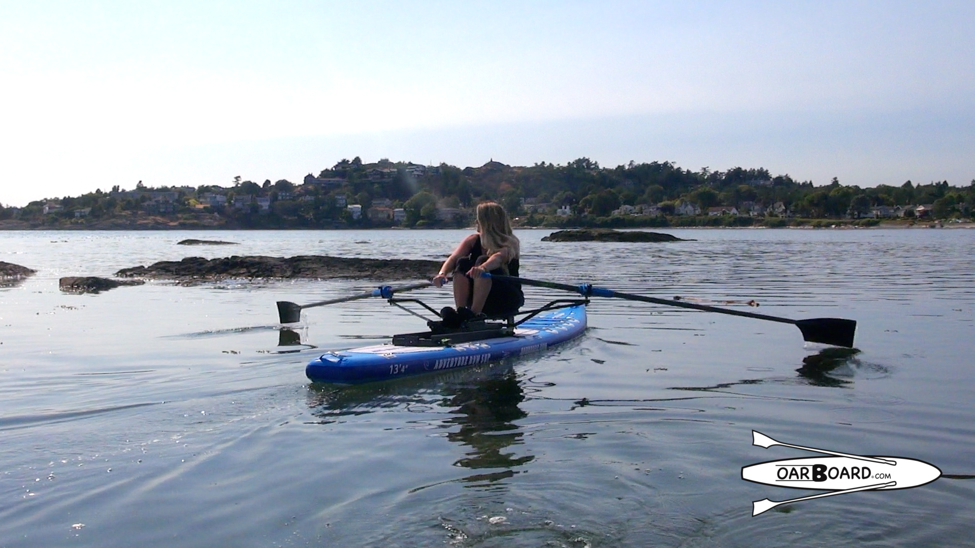 Oar-Board-Oars Assembly-McNeill-Bay-Diana-Lesieur