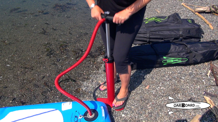 Pumping-Inflatable-SUP-Demo-Diana-Lesieur
