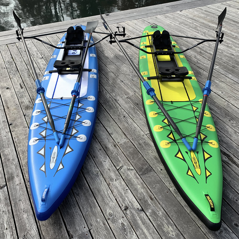 Oar Board Adventure Row 13' 4 SUP Rower Combo fun fitness recreation sports Whitehall Rowing and Sail