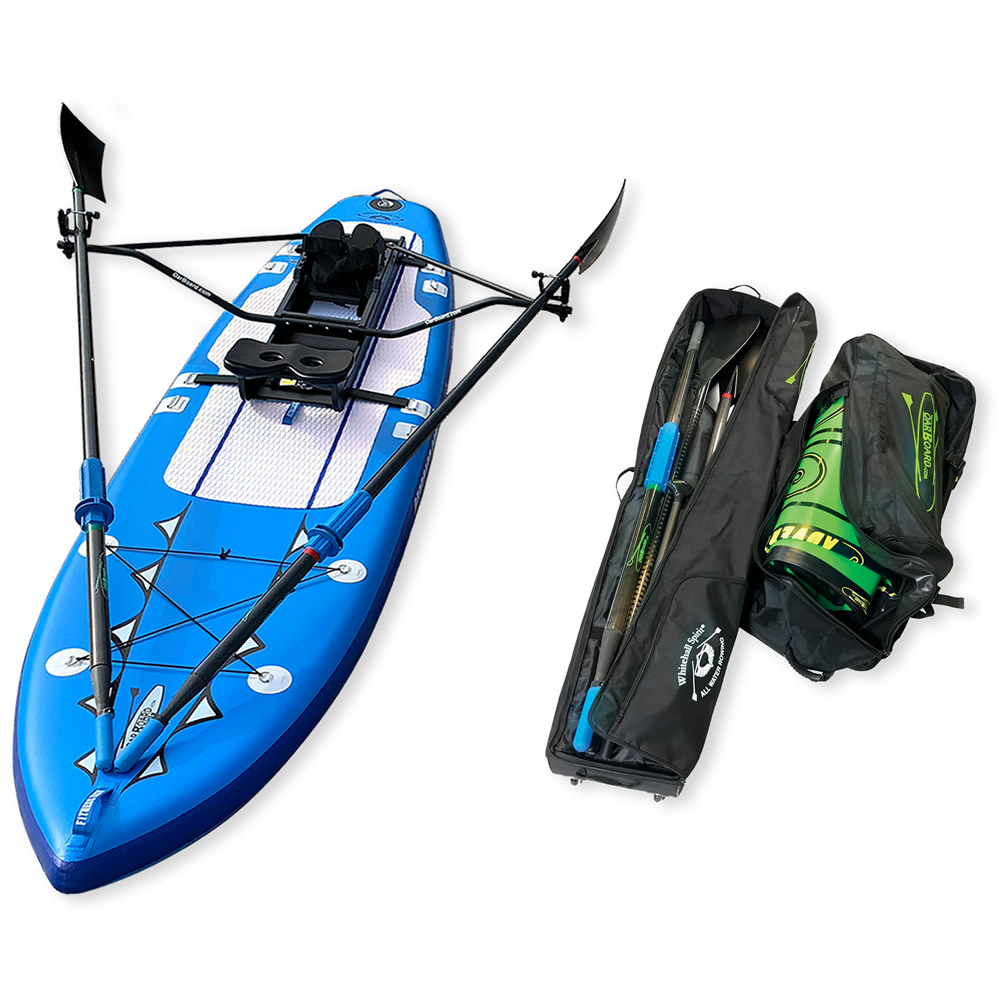Oar Board Fitness Row 12 SUP Rower Combo fun fitness recreation sports Whitehall Rowing and Sail