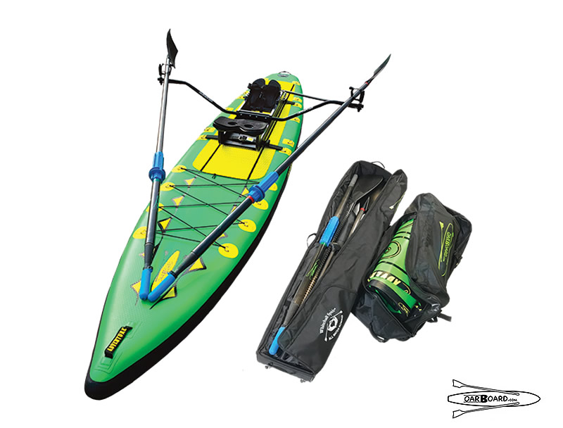 Oar Board® Rower and Stand Up Paddle Board Combination Packages