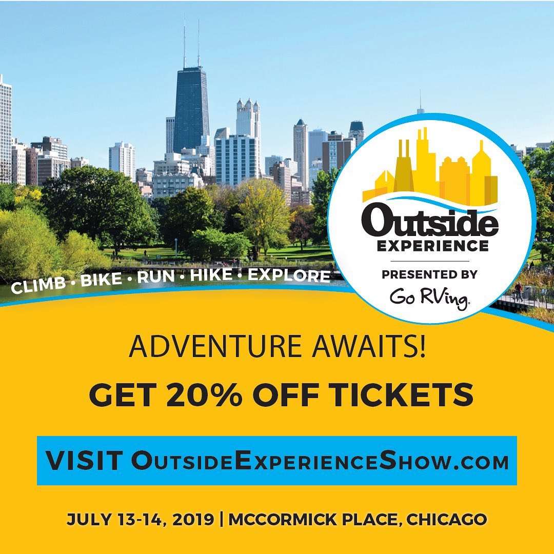 Join Oar Board® in the Water Zone at #OutsideExperience from July 13-14, 2019 at McCormick Place in Chicago, Illinois.