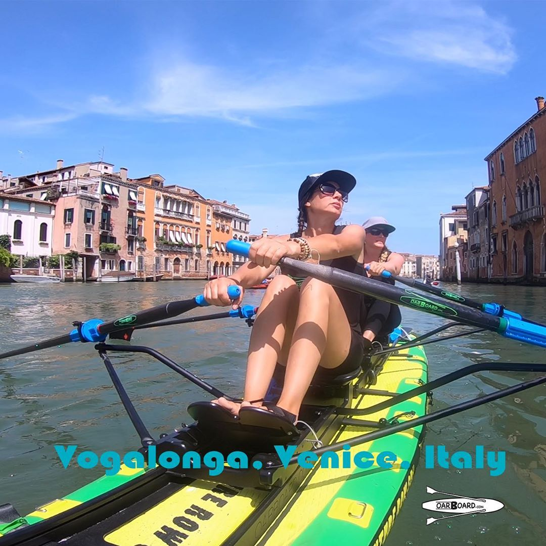 Oar Board® Travelling to the city of Venice, Italy for the Vogalonga Race 2019