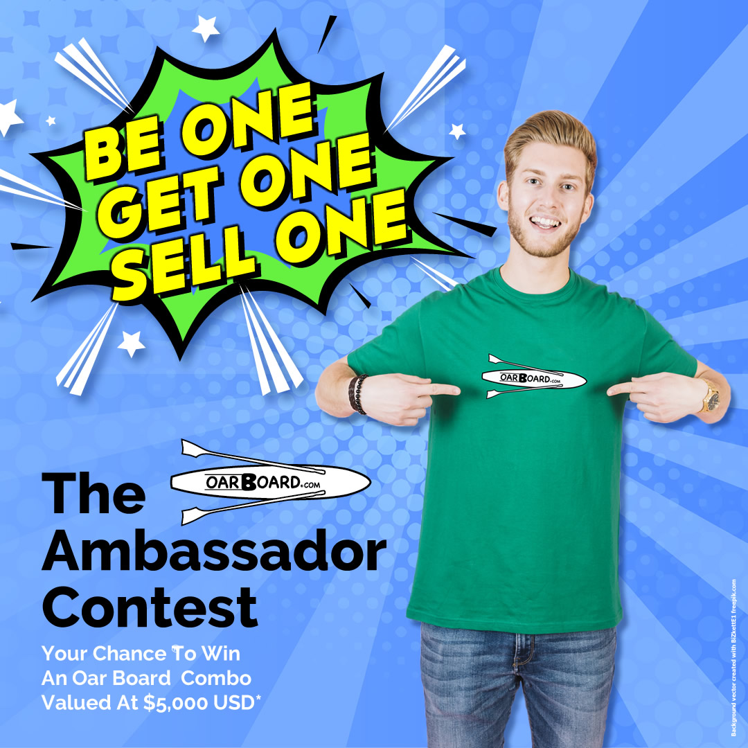 The Ambassador Contest, Oar Board® Rowing Fitness, Fun and Adventure