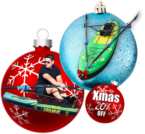 Best Christmas Gift Ever! 20% Off Deals - Row Your Paddle Board with Oar Board®