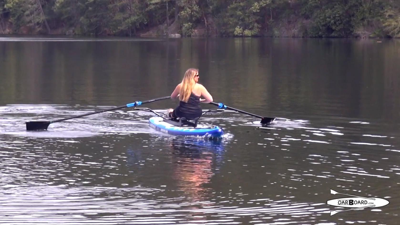 Oar-Board-SUP-Fit-On-Top-Rower-video-withDiana-Lesieur-2