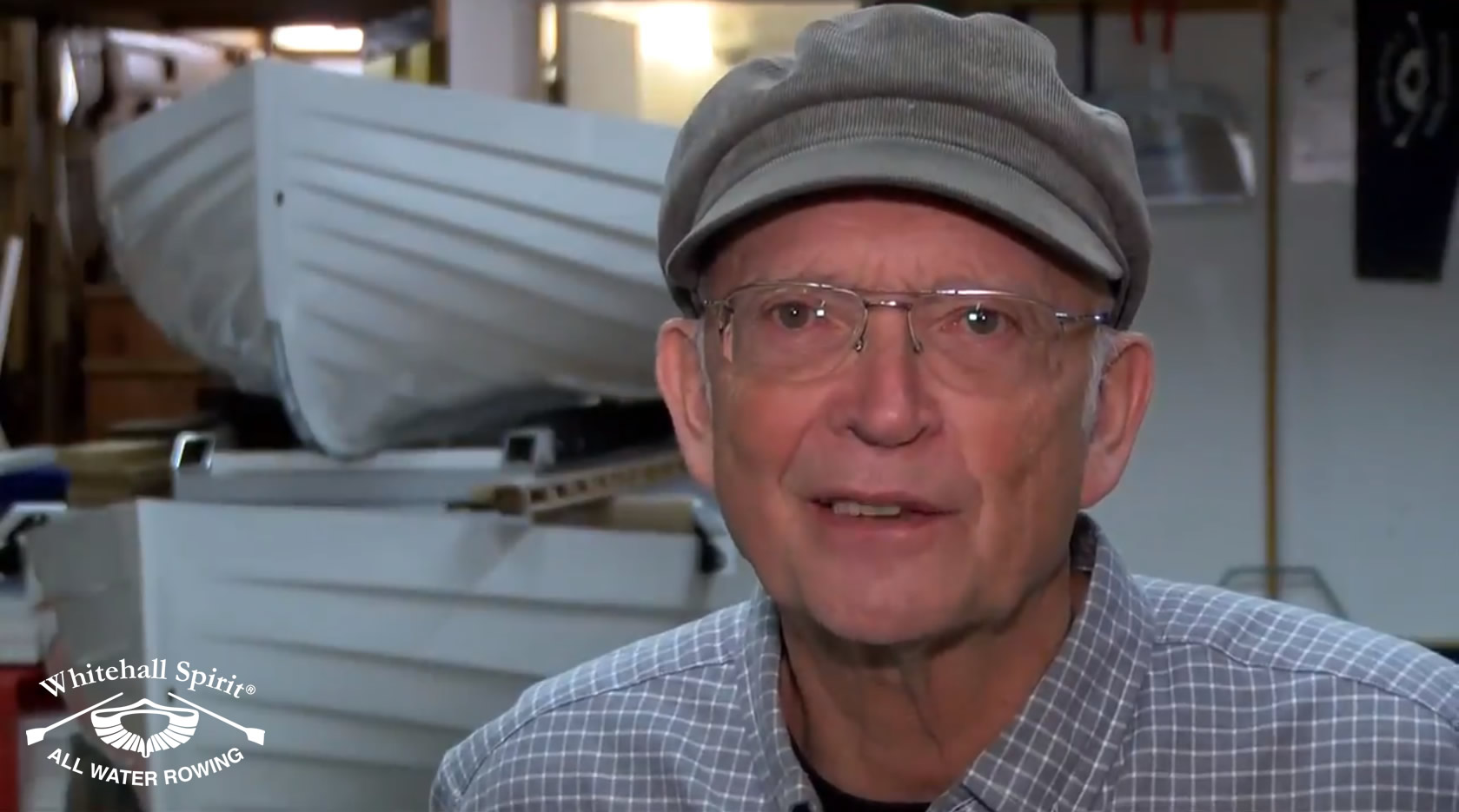Harold Aune, boat designer and co-founder Whitehall Rowing and Sail boats, fun, fitness and adventure
