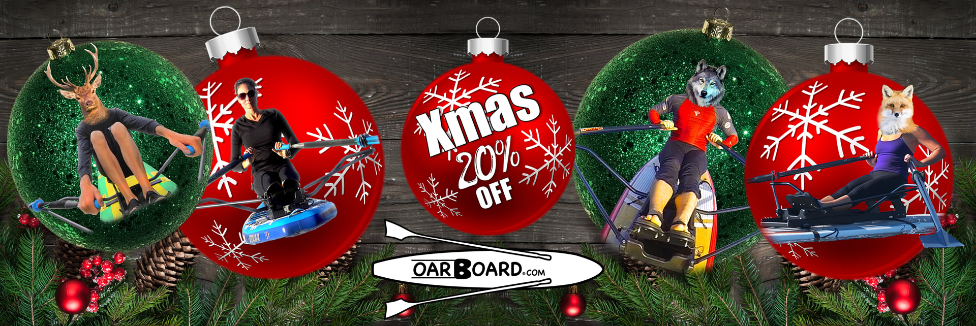 The Perfect Gift! Shop Oar Board® Rower, SUPs, Combos, Sculling Oars & Accessories
